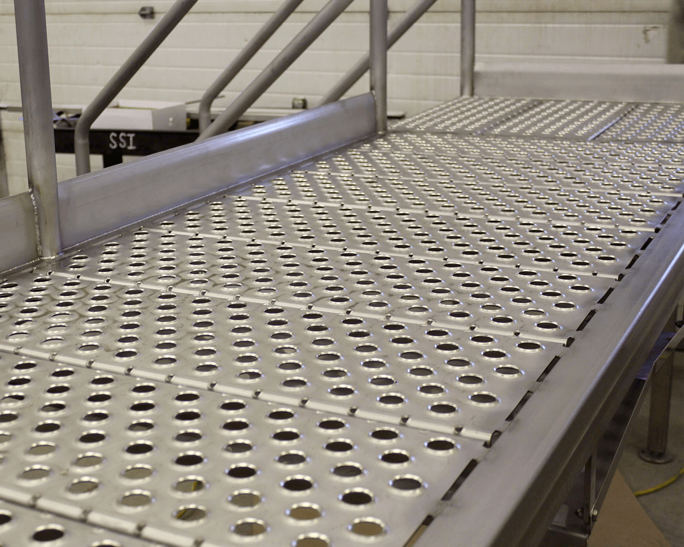 stainless steel deck grating