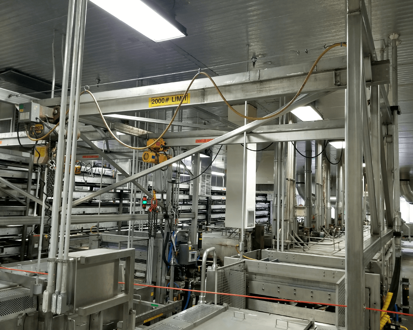 stainless monorail systems