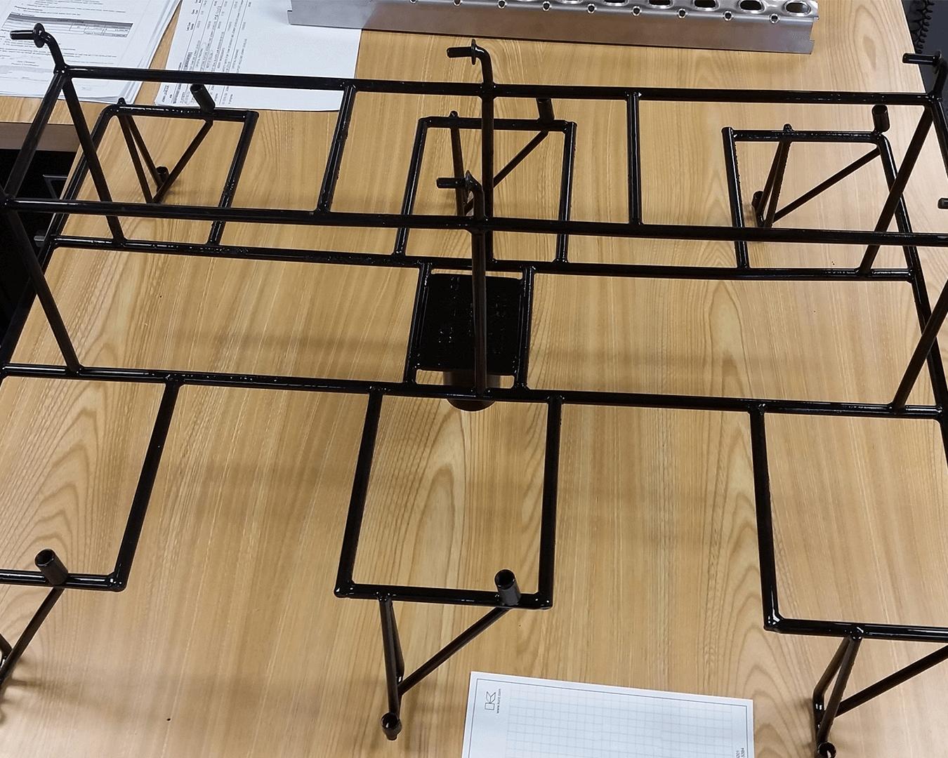 paint line rack