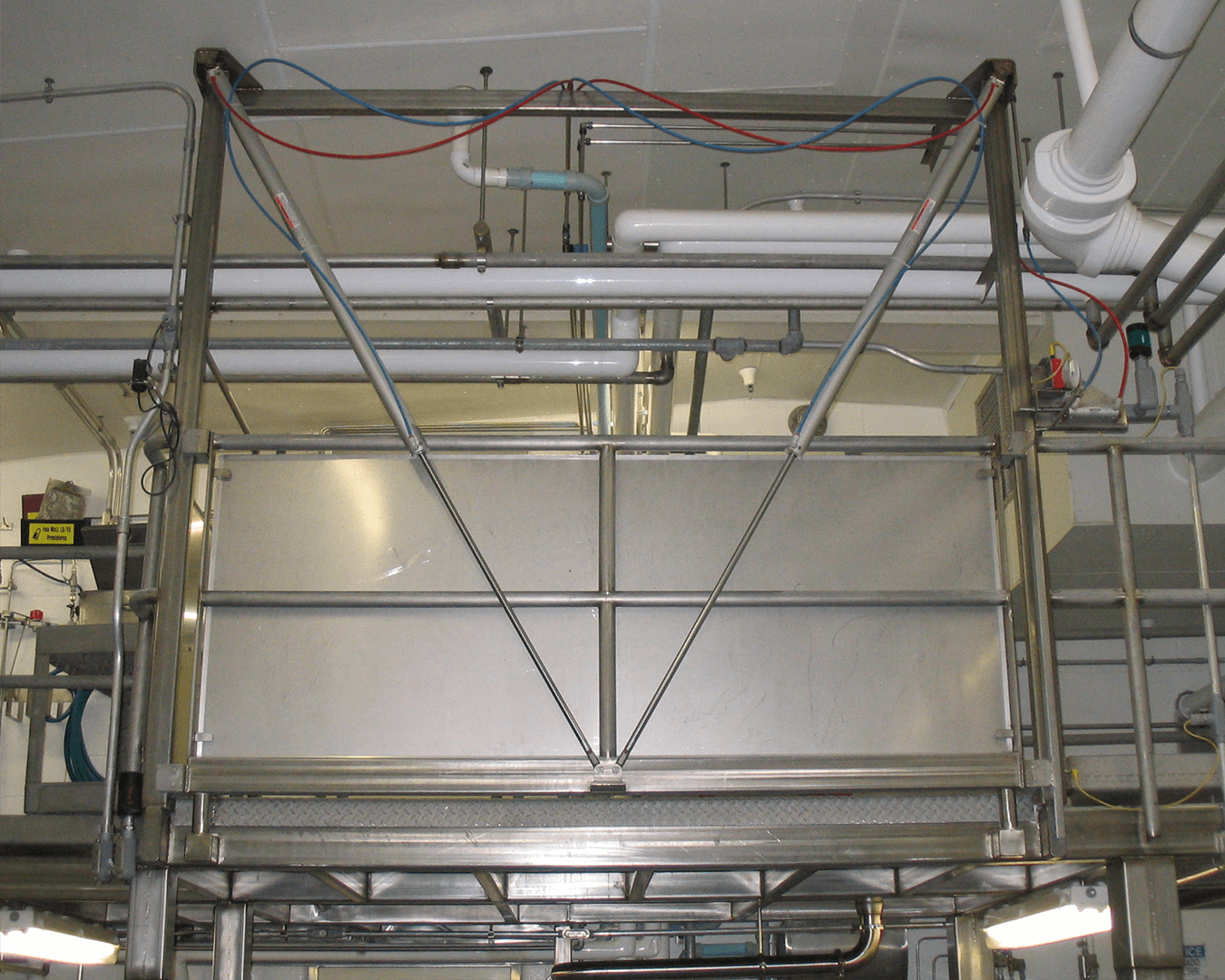 stainless safety gate