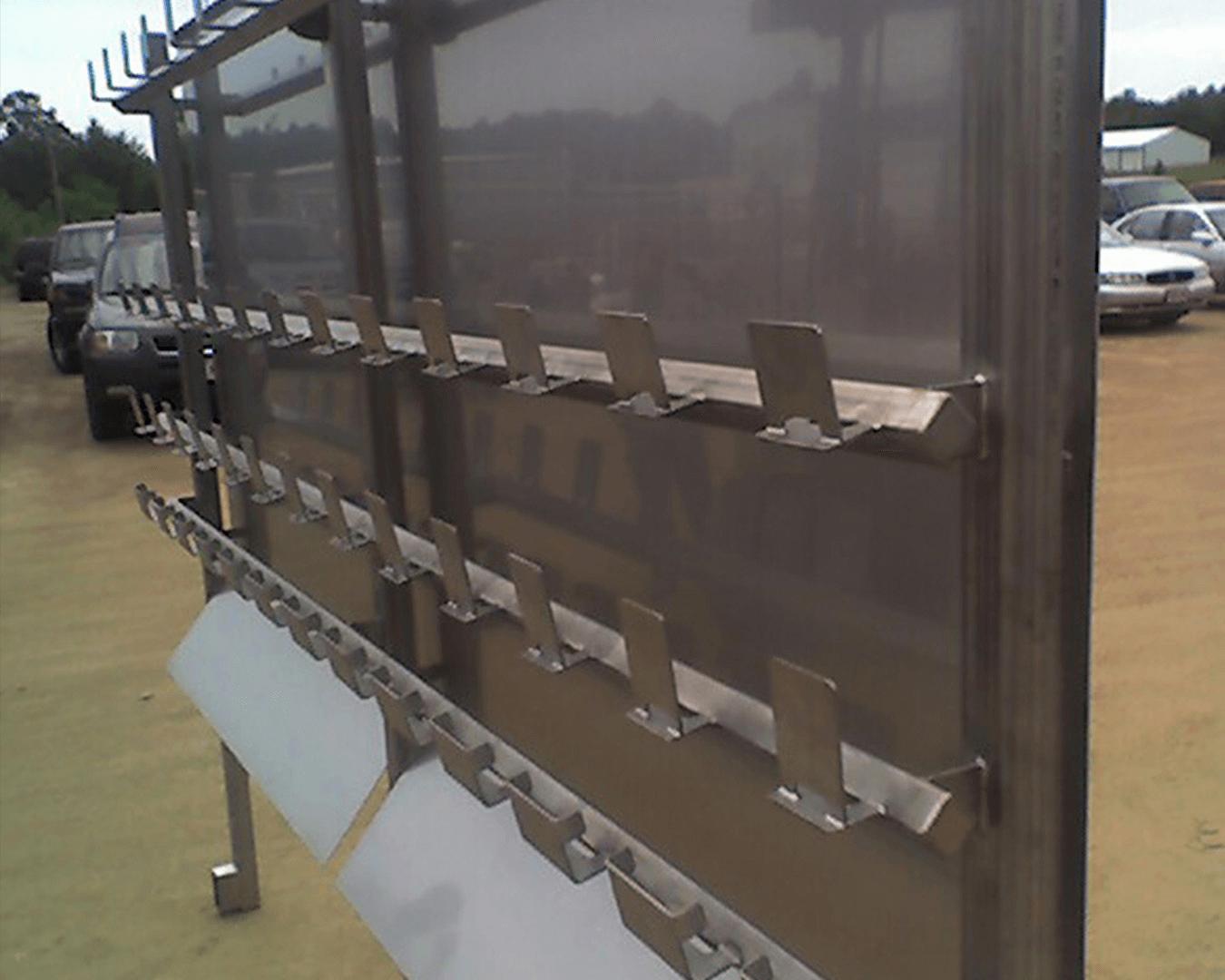 scale bucket wash rack
